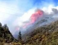 四川雅江森林火灾 重庆通航护林机组参与四川雅江森林火灾扑救工作获表彰