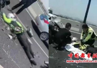 浙江省24岁辅警处理事故时遭后方车辆撞击不幸牺牲